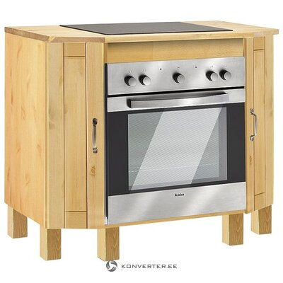 Solid wood stove cabinet (alby)