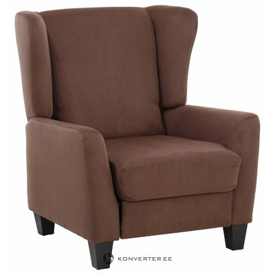 Aladdin Armchair microfiber - Brown