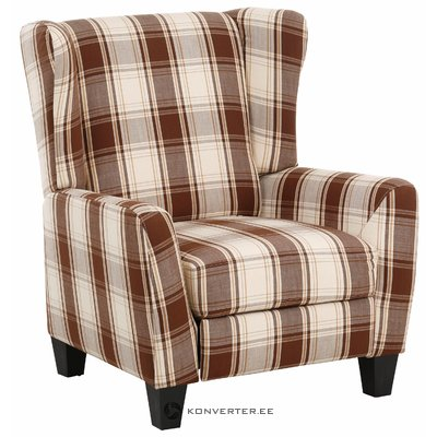Aladdin Armchair Fabric - Brown