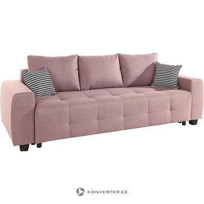 Pink sofa bed (bella) (whole, in a box)