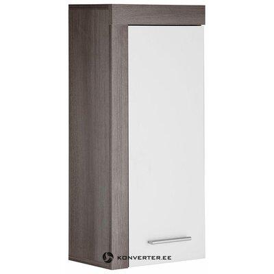 Коричнево-белый шкафчик (майами) (бракованный, образец холла)