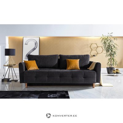 Черный диван-кровать (Inosign)