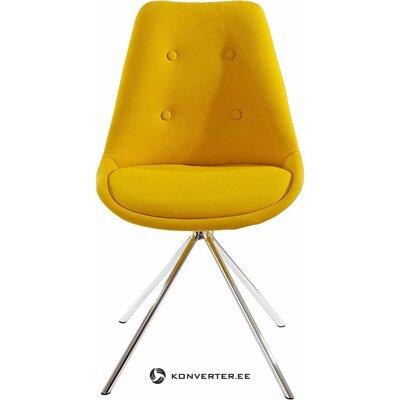 Dzeltens krēsls