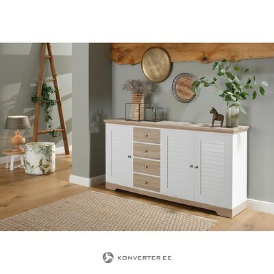 Brown-white chest of drawers (ramon)