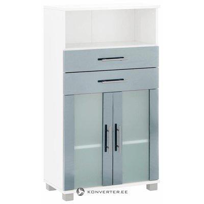 Blue-White Cabinet Glass Door