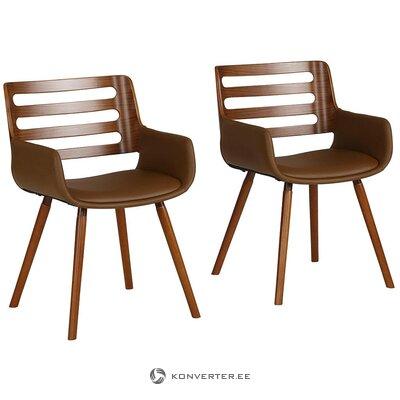 Ruskea tuoli (kingston) (viallinen, salinäyte)