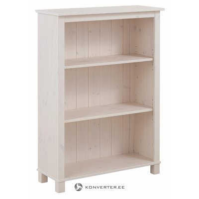 Pinto Bookcase low - White