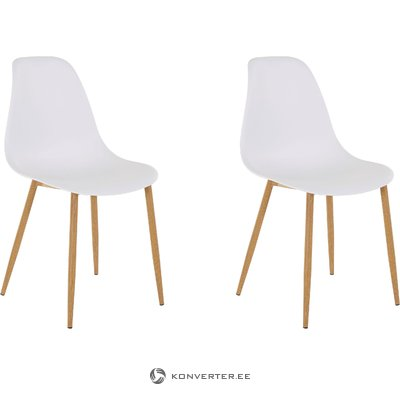 Mingu chair 2 pack - White Plastic