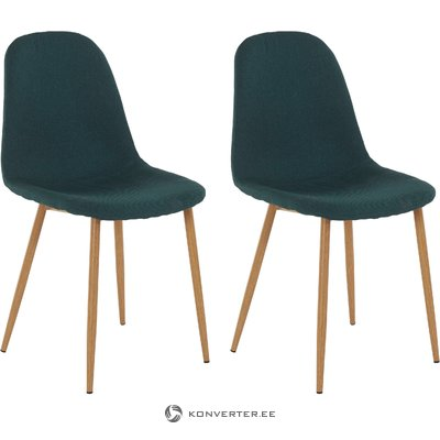 Mingu chair 2 pack - Green Fabric