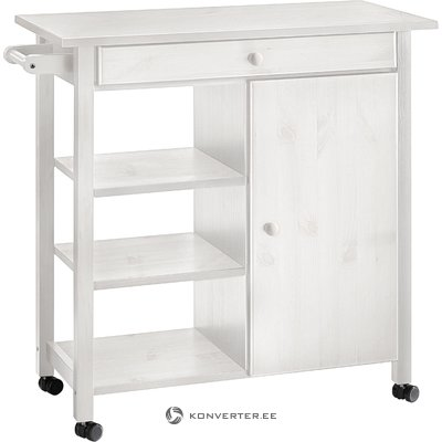 Arizona Kitchen trolley White/lacquer
