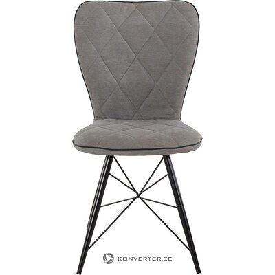 Gray-black chair (viola) (with beauty defect ,, hall sample)