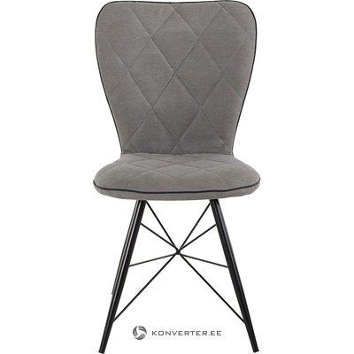 Серо-черный стул