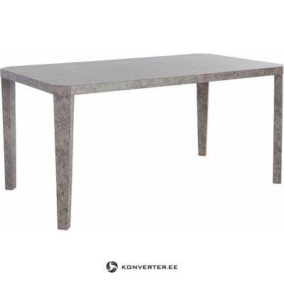 Pilkas pietų stalas (atlanta)
