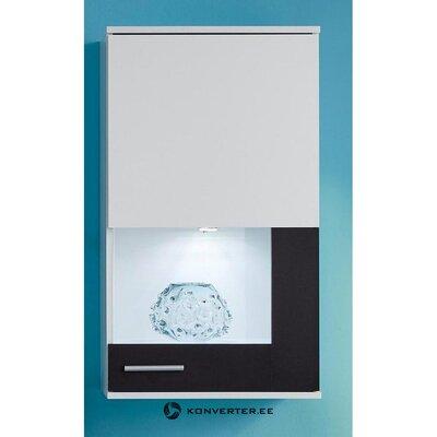 Balta-juoda sieninė spintelė (lizdas) (dėžutėje, su grožio defektais)