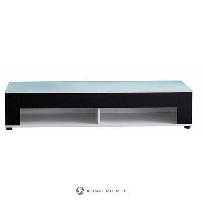 Black and white TV cabinet (with strong beauty defects)