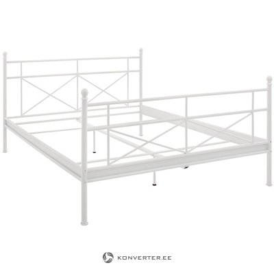 White Metal Bed (180x200cm)