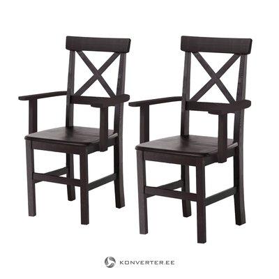 Николин кресло 2 пакета- Гавана / Лак