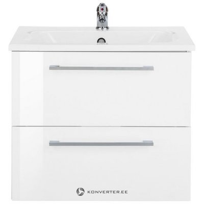 White 2-drawer washbasin (with washbasin) (Intenso) (Hall sample, whole)