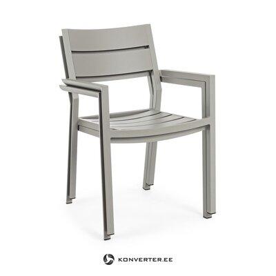 Beige hall garden chair (bizzotto)