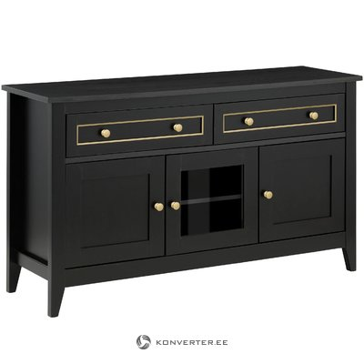 Valjo Sideboard 3 Doors - Black/Gold
