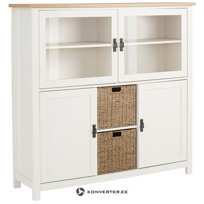 Garay Highboard - Saxon/White