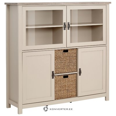 Garay Highboard - Sonoma/Sand