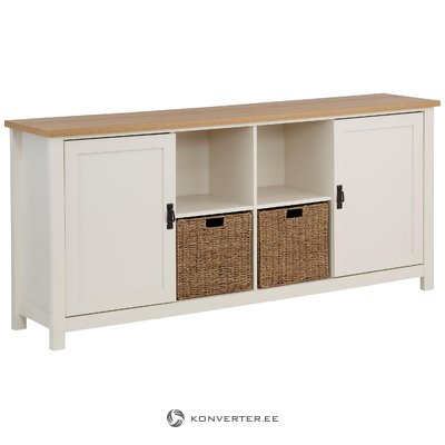 Garay Sideboard Large - Saxon/White