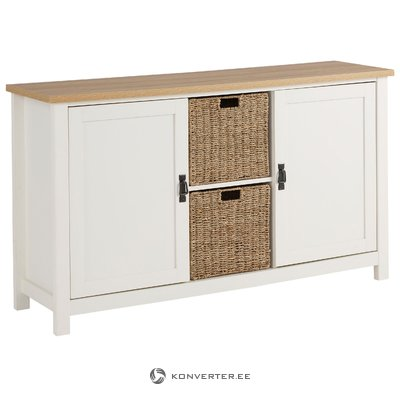 Garay Sideboard Small - Saxon/White