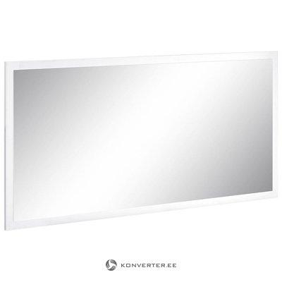 Baltas blizgus platus veidrodis (su grožio trūkumais)