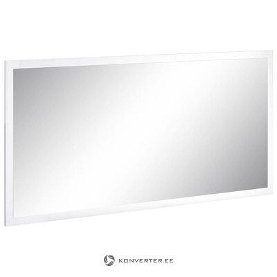 Balta spīdīga plata spogule (vesela) (ar defektiem. Hall paraugs)