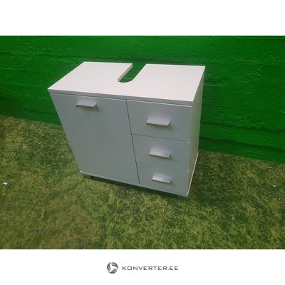 Balta Countertop 3 ar drawer un 1 durvīm