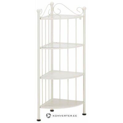 White corner shelf (defective, hall sample)