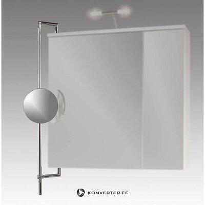 Mažasis veidrodžio pridėjimas prie sienos klipo