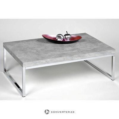 Coffee table (inosign) (light gray, in box, with beauty defects)