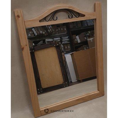 Vaaleanruskea täplikäs peili (täysi, näytenäyttö)