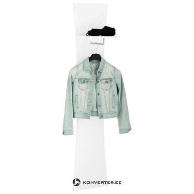 Stilīgs balts pakaramais ar spīdumu (arco) (ar skaistuma defektiem. Hall paraugs)