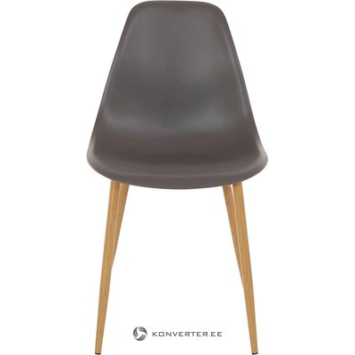 Anthracite plastic chair (whole, in box)