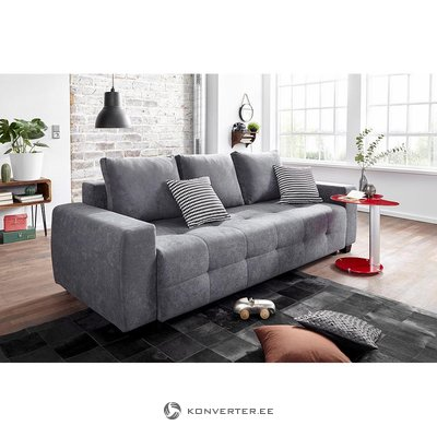 Anthracite sofa bed (whole, in box)