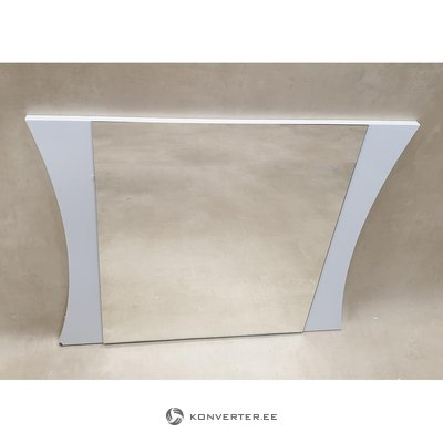 White high gloss mirror (in box, with beauty defects)