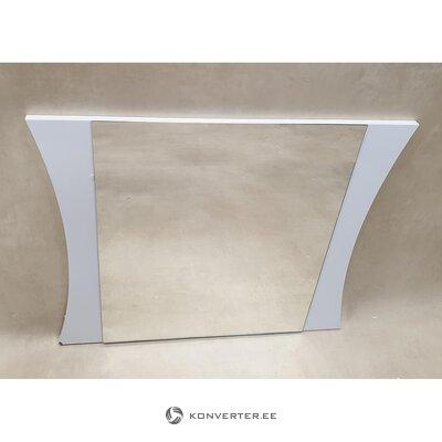Valkoinen korkeakiiltoinen peili (salinäyte)