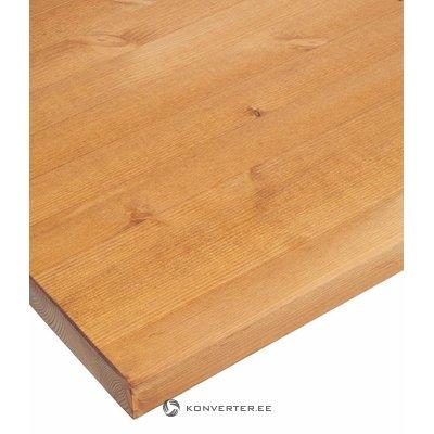 Столешница из массива коричневого дерева (ширина 150см)