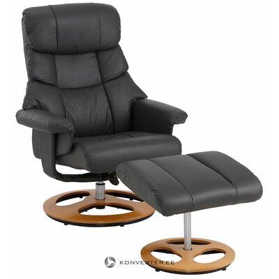 Pelēks grozāms krēsls (toulon) (viss, zāles paraugs)