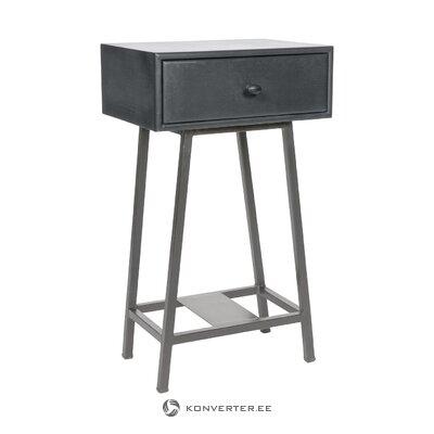 """Juodo dizaino naktinis stalas """"Skybox"""" (""""bepurehome"""")"""