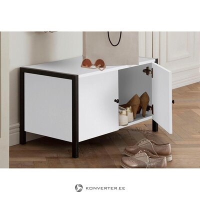 Small white shoe cabinet (chris)