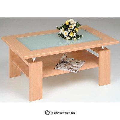 Lasinen sohvapöytä (inosign) (vaaleanruskea  kauneusvikoilla)