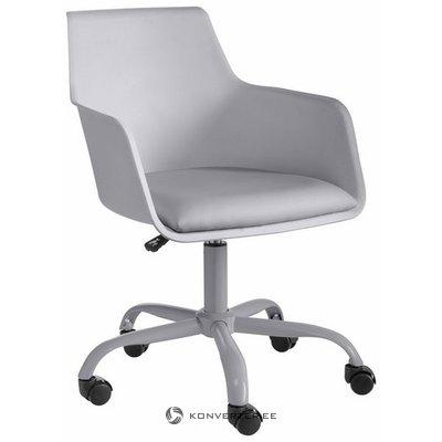 Pilka biuro kėdė (vienišiai) (visa, dėžutėje)