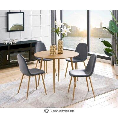 (Leonique)Söögilaua Komplekt koos toolidega(Eadwine)