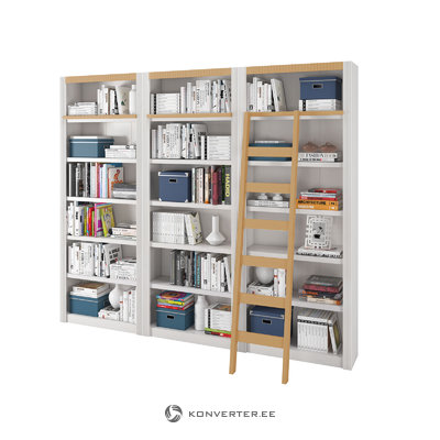 Bailey Wall unit medium-White/Lacquer