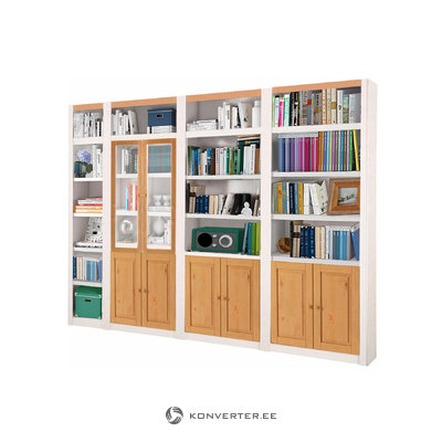 Bailey Wall unit F - White/Lacquer