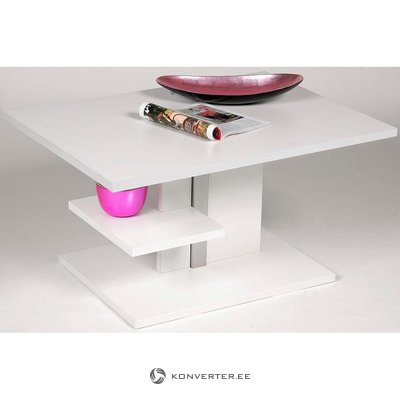 White height adjustable coffee table (in box, whole)